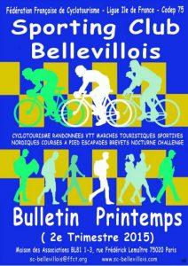 Bulletin printemps 2015