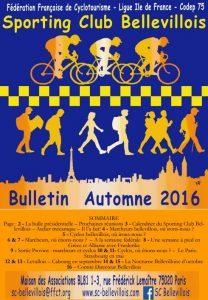 Bulletin automne 2016